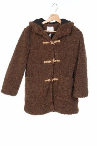 Παιδικό παλτό Zara Kids, Μέγεθος 11-12y/ 152-158 εκ., Χρώμα Καφέ, Πολυεστέρας, Τιμή 13,41€