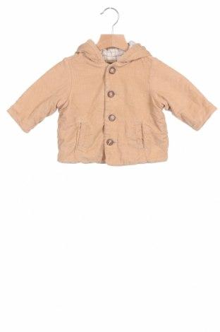 Παιδικό μπουφάν Gap Baby, Μέγεθος 3-6m/ 62-68 εκ., Χρώμα  Μπέζ, Βαμβάκι, Τιμή 14,25€
