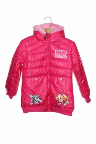 Παιδικό μπουφάν Nickelodeon, Μέγεθος 5-6y/ 116-122 εκ., Χρώμα Ρόζ , Πολυεστέρας, Τιμή 23,12€