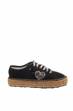 Εσπάδριλλες Love Moschino, Μέγεθος 39, Χρώμα Μαύρο, Κλωστοϋφαντουργικά προϊόντα, Τιμή 100,67€