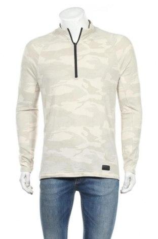 Ανδρική μπλούζα Abercrombie & Fitch, Μέγεθος S, Χρώμα  Μπέζ, 74% βαμβάκι, 22% πολυεστέρας, 4% ελαστάνη, Τιμή 14,32€