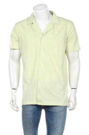 Ανδρικό πουκάμισο Boohoo, Μέγεθος XL, Χρώμα Πράσινο, Βαμβάκι, Τιμή 7,22€