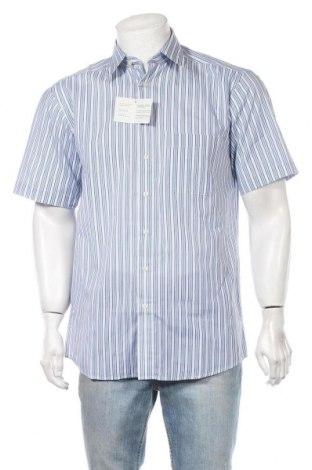 Ανδρικό πουκάμισο Club D'amingo, Μέγεθος M, Χρώμα Μπλέ, 60% βαμβάκι, 40% πολυεστέρας, Τιμή 13,93€