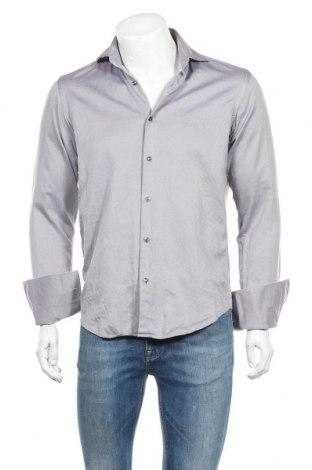 Ανδρικό πουκάμισο Hugo Boss, Μέγεθος S, Χρώμα Βιολετί, Τιμή 15,84€