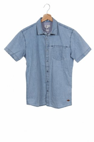 Мъжка риза Lee Cooper, Размер S, Цвят Син, Памук, Цена 13,32лв.