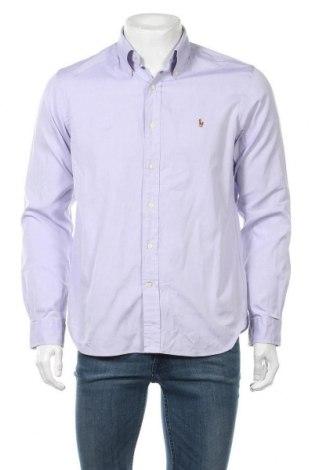 Мъжка риза Polo By Ralph Lauren, Размер M, Цвят Лилав, Памук, Цена 33,92лв.