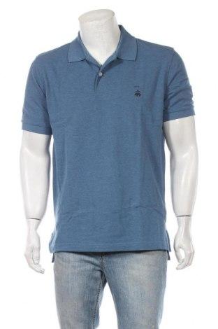 Ανδρικό t-shirt Brooks Brothers, Μέγεθος L, Χρώμα Μπλέ, Βαμβάκι, Τιμή 36,70€