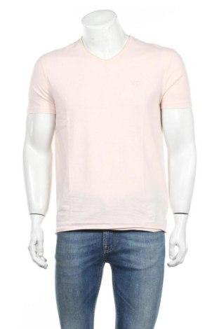 Мъжка тениска Eleven Paris, Размер S, Цвят Розов, 60% памук, 40% полиестер, Цена 24,15лв.
