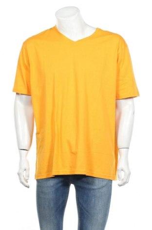 Ανδρικό t-shirt Kitaro, Μέγεθος XXL, Χρώμα Πορτοκαλί, Βαμβάκι, Τιμή 15,67€