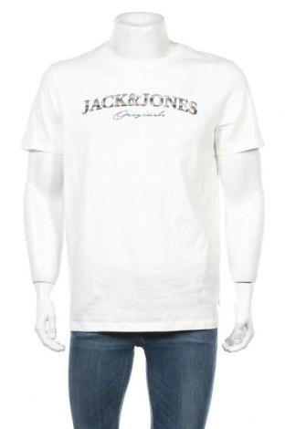 Pánské tričko  Originals By Jack & Jones, Velikost L, Barva Bílá, Bavlna, Cena  292,00Kč