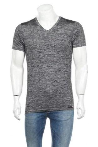 Ανδρικό t-shirt Otto Kern, Μέγεθος L, Χρώμα Γκρί, 51% πολυαμίδη, 41% πολυεστέρας, 8% ελαστάνη, Τιμή 22,40€