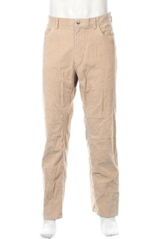 Ανδρικό κοτλέ παντελόνι Brooks Brothers, Μέγεθος XL, Χρώμα  Μπέζ, 98% βαμβάκι, 2% ελαστάνη, Τιμή 14,03€