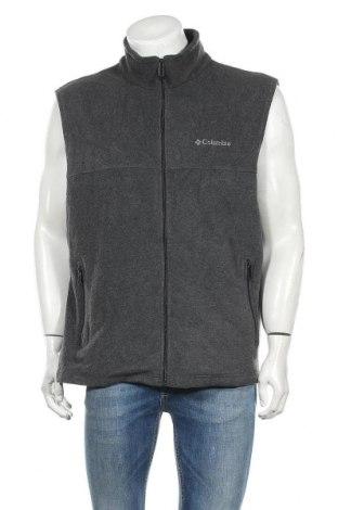 Ανδρικό fleece γιλέκο Columbia, Μέγεθος L, Χρώμα Γκρί, Πολυεστέρας, Τιμή 12,39€