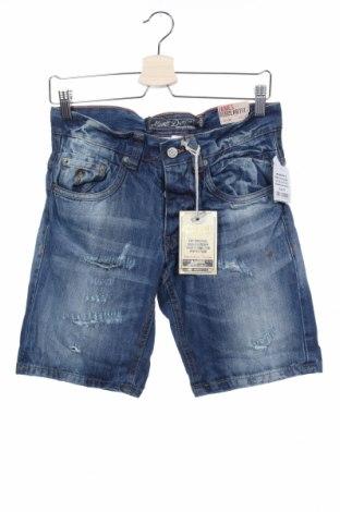 Ανδρικό κοντό παντελόνι Alcott, Μέγεθος S, Χρώμα Μπλέ, Βαμβάκι, Τιμή 16,49€