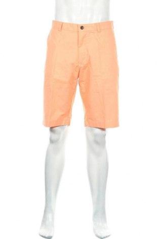 Мъжки къс панталон Brooks Brothers, Размер M, Цвят Оранжев, Памук, Цена 37,92лв.