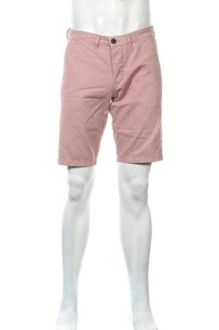 Мъжки къс панталон Calliope, Размер M, Цвят Розов, Памук, Цена 22,00лв.
