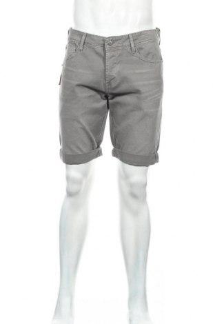 Мъжки къс панталон Le Temps Des Cerises, Размер L, Цвят Сив, 100% памук, Цена 22,00лв.
