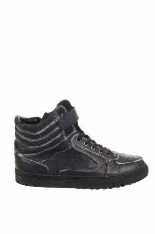 Ανδρικά παπούτσια Pepe Jeans, Μέγεθος 44, Χρώμα Μαύρο, Γνήσιο δέρμα, Τιμή 69,20€