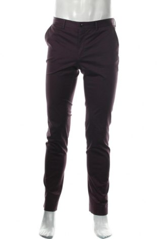 Ανδρικό παντελόνι Filippa K, Μέγεθος M, Χρώμα Βιολετί, 97% βαμβάκι, 3% ελαστάνη, Τιμή 20,04€