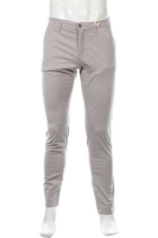 Мъжки панталон Franklin & Marshall, Размер S, Цвят Сив, 98% памук, 2% еластан, Цена 37,95лв.