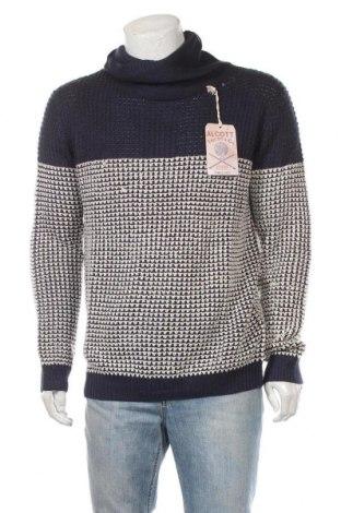 Ανδρικό πουλόβερ Alcott, Μέγεθος XL, Χρώμα Μπλέ, Ακρυλικό, Τιμή 12,57€