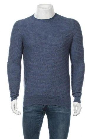Ανδρικό πουλόβερ Joseph Abboud, Μέγεθος M, Χρώμα Μπλέ, Μερινό, Τιμή 13,13€
