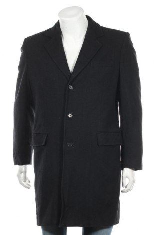 Ανδρικά παλτό Club Monaco, Μέγεθος M, Χρώμα Μπλέ, 75% μαλλί, 25% πολυαμίδη, Τιμή 73,39€
