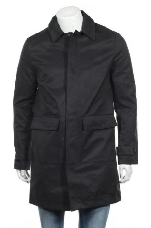 Pánský kabát  H&M, Velikost S, Barva Černá, 79% polyester, 21% bavlna, Cena  251,00Kč