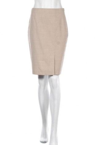 Φούστα Brooks Brothers, Μέγεθος XS, Χρώμα  Μπέζ, 97% μαλλί, 3% ελαστάνη, Τιμή 34,39€