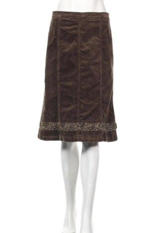 Пола Micha, Размер S, Цвят Кафяв, 97% памук, 3% еластан, Цена 4,46лв.