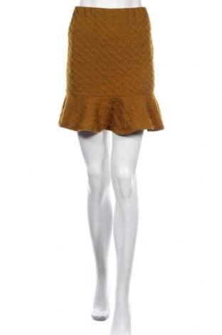 Φούστα Pieces, Μέγεθος M, Χρώμα Κίτρινο, 87% πολυεστέρας, 13% ελαστάνη, Τιμή 13,92€