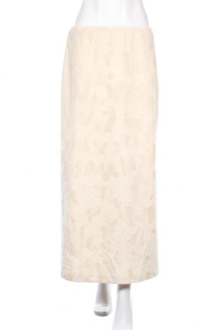 Φούστα Topshop, Μέγεθος M, Χρώμα Εκρού, Πολυεστέρας, Τιμή 4,09€