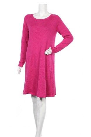 Φόρεμα Apart, Μέγεθος L, Χρώμα Ρόζ , 92% βαμβάκι, 8% κασμίρι, Τιμή 58,68€
