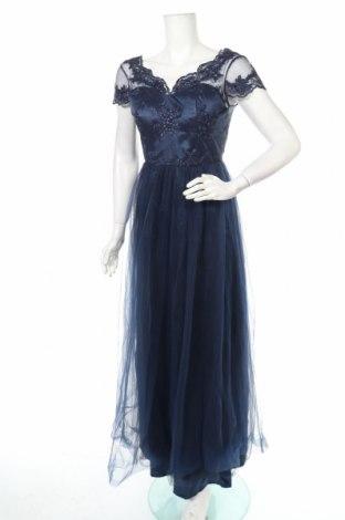 Φόρεμα Chi Chi, Μέγεθος M, Χρώμα Μπλέ, Πολυεστέρας, Τιμή 48,71€