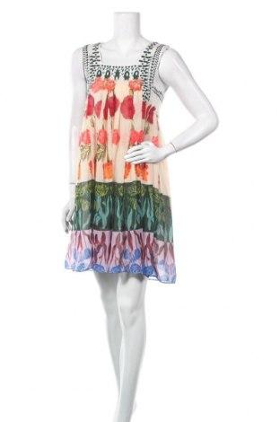 Рокля Desigual by Christian Lacroix, Размер XL, Цвят Многоцветен, 93% полиестер, 7% полиамид, Цена 71,52лв.