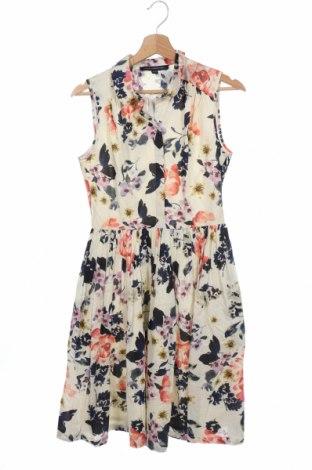 Φόρεμα French Connection, Μέγεθος XS, Χρώμα Πολύχρωμο, Βαμβάκι, Τιμή 36,57€