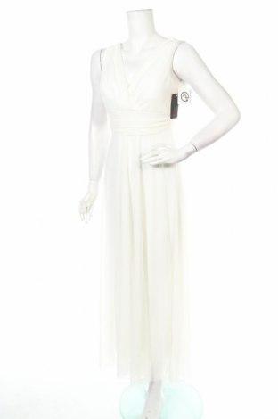 Φόρεμα Just For You, Μέγεθος M, Χρώμα Λευκό, 95% πολυεστέρας, 5% ελαστάνη, Τιμή 21,73€