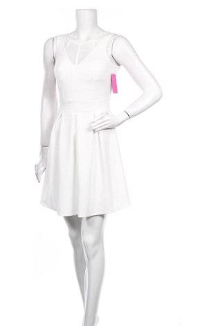 Φόρεμα Just For You, Μέγεθος M, Χρώμα Λευκό, 60% πολυεστέρας, 35% βισκόζη, 5% ελαστάνη, Τιμή 20,68€