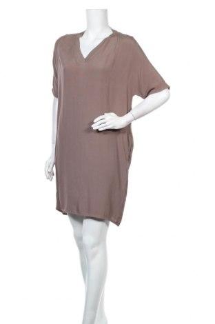 Φόρεμα La Fee Maraboutee, Μέγεθος M, Χρώμα Καφέ, Βισκόζη, Τιμή 27,05€