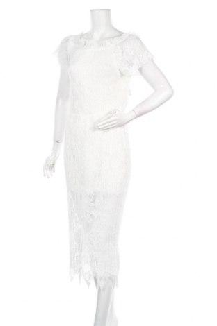Рокля La Fee Maraboutee, Размер M, Цвят Бял, Полиестер, Цена 103,20лв.