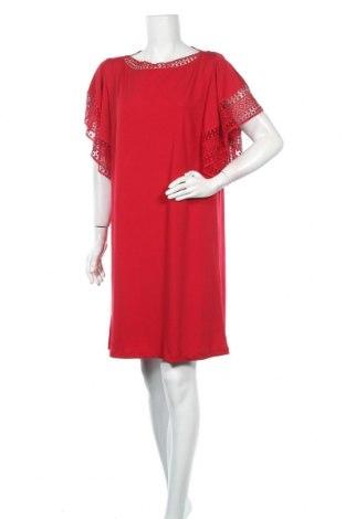 Φόρεμα Lauren Vidal, Μέγεθος XL, Χρώμα Κόκκινο, 95% πολυεστέρας, 5% ελαστάνη, Τιμή 28,75€