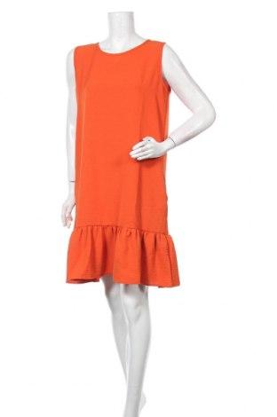 Рокля New Laviva, Размер M, Цвят Оранжев, 95% полиестер, 5% еластан, Цена 43,40лв.