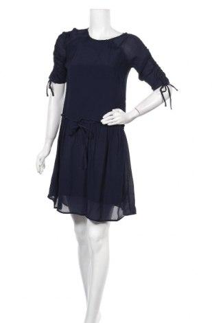 Φόρεμα Pieces, Μέγεθος XS, Χρώμα Μπλέ, Βισκόζη, Τιμή 11,40€