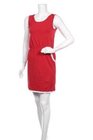 Рокля Pier One, Размер S, Цвят Червен, 94% памук, 6% еластан, Цена 20,70лв.