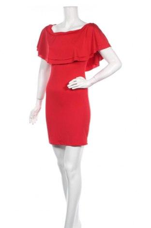 Рокля Saint Germain, Размер S, Цвят Червен, 95% полиестер, 5% еластан, Цена 21,93лв.