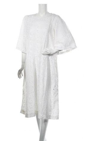 Φόρεμα Stella Nova, Μέγεθος L, Χρώμα Λευκό, Βαμβάκι, Τιμή 73,07€