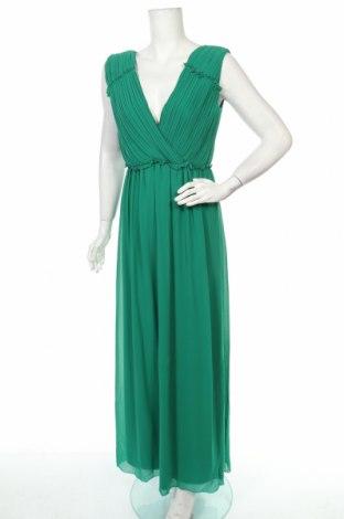 Рокля Vila, Размер S, Цвят Зелен, 100% полиестер, Цена 24,00лв.