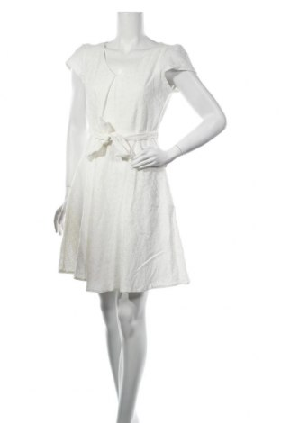 Рокля Yumi, Размер M, Цвят Бял, 95% полиестер, 5% еластан, Цена 31,05лв.