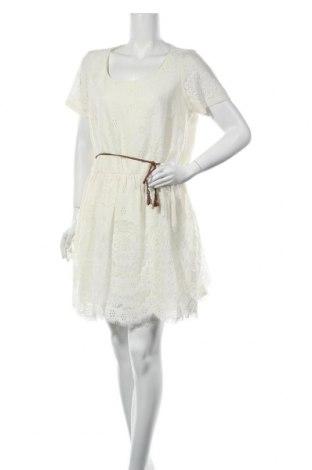 Рокля Yumi, Размер XL, Цвят Екрю, 60% памук, 40% полиамид, Цена 31,05лв.