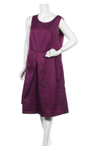 Φόρεμα Zizzi, Μέγεθος L, Χρώμα Βιολετί, 97% πολυεστέρας, 3% ελαστάνη, Τιμή 29,69€